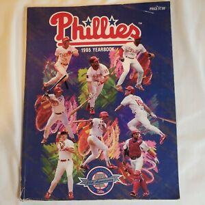 1995 Philadelphia Phillies Yearbook (25 year Veterans Stadium Anniversary)