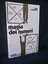 Jorg Sabellicus - Magia dei numeri - Mediterranee - 9788827200209