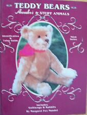 STEIFF ANIMALS TEDDY BEAR PRICE GUIDE COLLECTOR'S BOOK