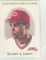 FREE SHIPPING-MINT-1991 (REDS) Score Cooperstown #B2 Barry Larkin