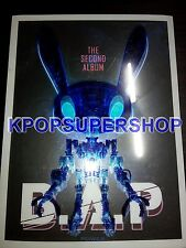 B.A.P BAP The Second Album POWER CD Great K-POP KPOP Badman One Shot