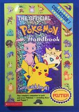 1999 Vintage Pokémon Collectors Handbook1st Printing With Poster