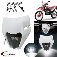 Motocross Dirt Bike Headlight LED Lamp MX Enduro For KTM EXC XCW XCF 125 250 350