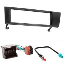 CARAV 11-052-4-7 Autoradio Radioblende Set für BMW 3er E90 1er E87 DIN Fakra ISO
