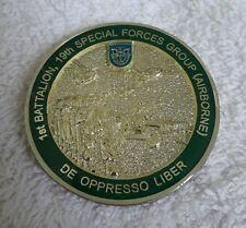 AUTHENTIC ARMY 1st BN, 19th SPECIAL FORCES GROUP (AIRBORNE) SF CHALLENGE COIN