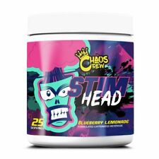Chaos Crew - STIM HEAD Pre Workout - 900mg Stimulants - All Flavours Available