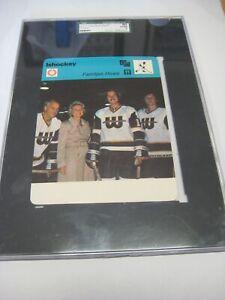 1977-81 SPORTSCASTER SWEDEN GORDIE HOWE & FAMILY SGC EX/NM 80 6 NICE GRADE!