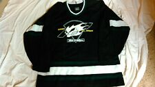 RARE NO FEAR AUTHENTIC HOCKEY JERSEY BLACK SIZE XL