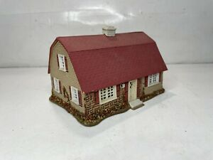 Ideal Ho Scale Model Trains Model Building Colonial Dutch House Lighted