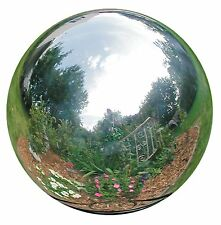 "Patio Gazing Ball Polished Stainless Steel Globe Yard Garden Outdoor Decor 4"" Us"