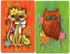 Playing Swap Cards  GENUINE 2 single PIATNIK ZOO ANIMALS