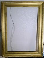 Antique 19th Century Howard-esque Hand-Carved & Gilted Picture Frame | 50.7x37.7
