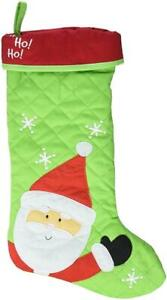 Stephen Joseph Quilted Christmas Stocking, Santa