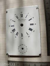 Cadran émail HOUR LAVIGNE pendule,pendulette Uhr zifferblatt 60x86 mm dial N 4