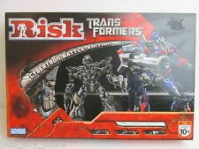 TRANSFORMERS RISK BOARD GAME classic CYBERTRON WAR EDITION parker bros