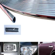 6M Chrome AUTO Car Edge Guard Protector Moulding Trim Molding Strip U-profile 1X