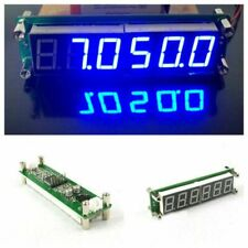 RF 6 Digit Blue Led Signal Frequency Counter Cymometer Tester 0.1 to 65 MHz ND