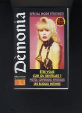 (214A) SM DEMONIA N°17 juillet 1992 Mode fétichiste Les bijoux intimes