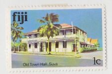 Architecture Fijian Stamps