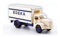 #85303 - Brekina Berliet GLR 8 Koffer - Edeka Saarland - 1949 - 1:87