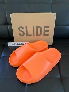 adidas Slide Sandals YEEZY SLIDE ENFLAME ENFORA ORANGE GZ0953 5, 9, 10, 11