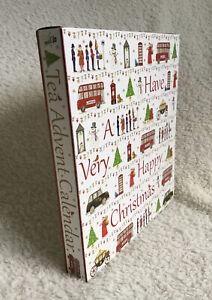 English tea shop organic advent calendar 25 tea bags