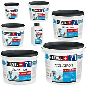 Ätznatron, Caustic Soda 1kg -100kg Natriumhydroxid NaOH Microperlen Level+ RM71