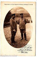 Kaiser Wilhelm II AK 1917 Rotes Kreuz Foto Kaiserin Auguste Monarchie 1511775
