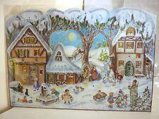 + ADVENTSKALENDER Nr.  49 Dorf  mit  viel Glimmer Weihnachten Nikolaus