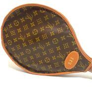Vintage Louis Vuitton Monogram Canvas Tennis Racket Cover In Great Condition!