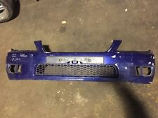 99-05 LEXUS IS200 IS300 FRONT BUMPER BLUE +  NUMBER PLATE HOLDER #2502
