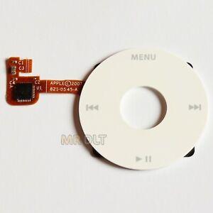New White iPod Classic Wheel 6th 7th 80GB 120GB 160GB Clickwheel Click A1238