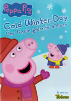 PEPPA PIG - COLD WINTER DAY (BILINGUAL) (DVD)