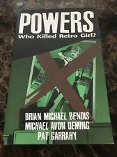 Powers: v. 1: Who Killed Retro Girl? by Brian Bendis, Michael Avon Oeming (Pape…