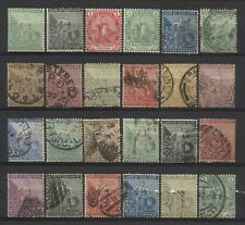 Cape of Good Hope Collection 24 Stamps Mostly Used
