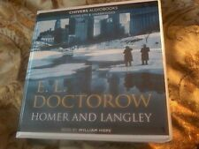 HOMER AND LANGLEY CD audio book by E.L.Doctorow, read by William Hope POST FREE