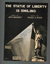The Statue of Liberty Is Smiling 1918 Sheet Music
