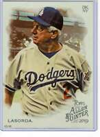 Tommy Lasorda 2019 Allen and Ginter 5x7 #396 /49 Dodgers