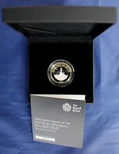"2015 Silver Piedfort Proof £2 coin ""Royal Navy"" in Case with COA   (C5/25)"