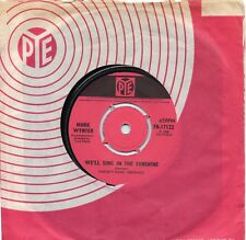 MARK WYNTER   WE'LL SING IN THE SUNSHINE  /  PENCIL & PAPER    UK PYE  60s POP
