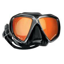 Scubapro Masque de Plongée Spectra Mirror (Noir Anti-reflets)