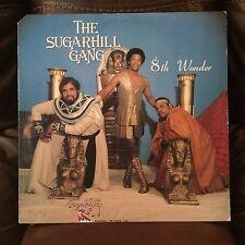 Sugarhill Gang 8th Wonder LP SH-249 (EX Condition)