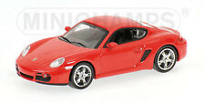 Porsche Cayman 2005 Red 1:64 Model MINICHAMPS