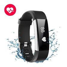 Bracelet de fitness cardiofréquencemètre étanche IP67 Tracker Intelligent APP