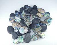 Natural Abalone Shell Mix Size & Shape Cabochon Loose Gemstone Wholesale Lot