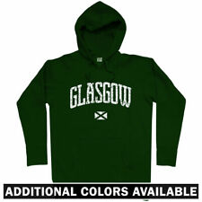 Glasgow Scotland Hoodie - Celtic Rangers Hoops UK Rugby Football GLA - Men S-3XL