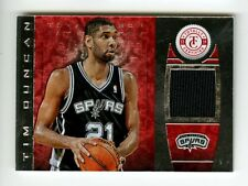 2013-14 Tim Duncan Patch /199 Totally Certified GU Spurs Panini Game Used Jersey