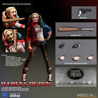 "Mezco Toyz Harley Quinn ONE:12 COLLECTIVE Suicide Squad 6"" INCH action figure"