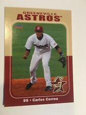 Carlos Correa, ONE CARD (1)-RARE 2012 Greeneville RC's. Investment Quality.
