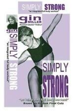 GIN MILLER SIMPLY STRONG EXERCISE WORKOUT DVD NEW SEALED WEIGHT TRAINING TONING